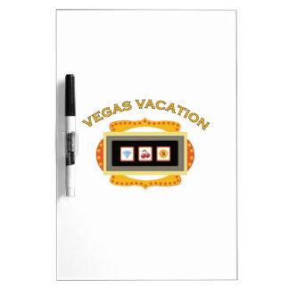 Vacaciones de Vegas Pizarras Blancas De Calidad