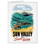 Vacaciones de verano de Sun Valley Felicitación