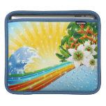 Vacaciones de verano exóticas tropicales mangas de iPad