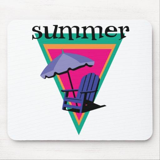 Vacaciones de verano mousepad