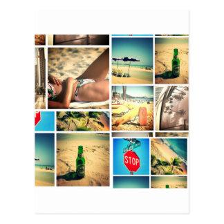 Vacaciones de verano postal