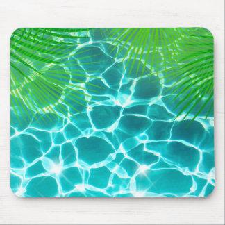 Vacaciones de verano tropicales mouse pad