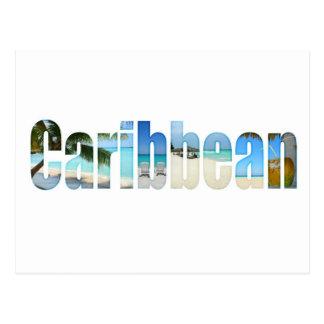 Vacaciones del Caribe Tarjetas Postales