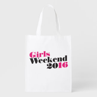 Vacaciones del fin de semana 2016 de los chicas bolsa para la compra