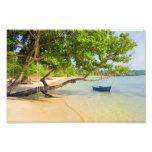 Vacaciones en la isla tropical foto