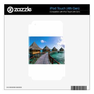 Vacaciones en paraíso iPod touch 4G skin