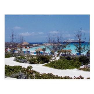 Vacaciones ideales de Bahamas Postal