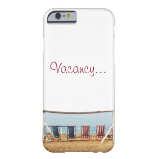 Vacancy Barely There iPhone 6 Case