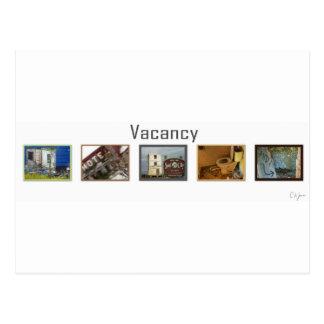Vacancy Postcards