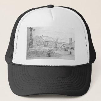 Vacant farm house trucker hat