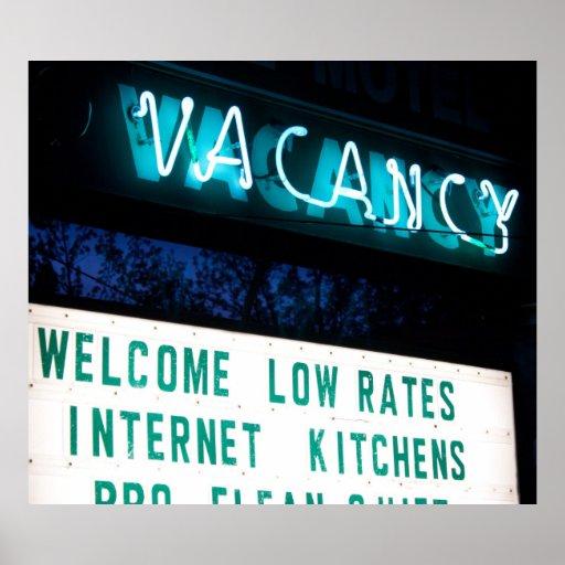 Vacante: Cocinas del Internet Posters