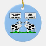 vacas adornos