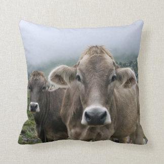 Vacas alpinas cojin