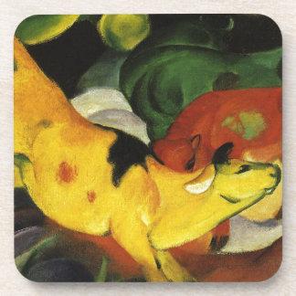 Vacas, Amarillo-Rojo-Verdes por Franz Marc Posavaso