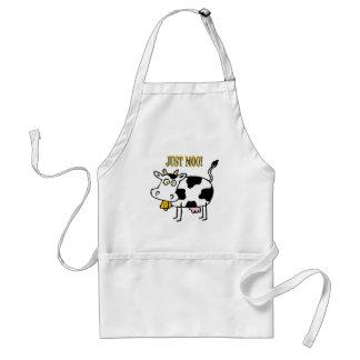 Vacas: ¡Apenas MOO! Delantales
