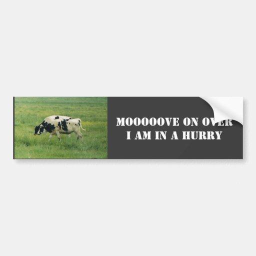 Vacas, Bumpersticker Etiqueta De Parachoque