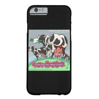 Vacas criadas para los casos divertidos de funda de iPhone 6 barely there