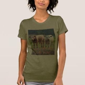 Vacas criticonas. - Modificado para requisitos Camisetas