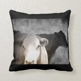 Vacas curiosas almohada