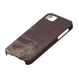 Vacas de Gustavo Klimt- en el granero iPhone 5 Case-Mate Cobertura