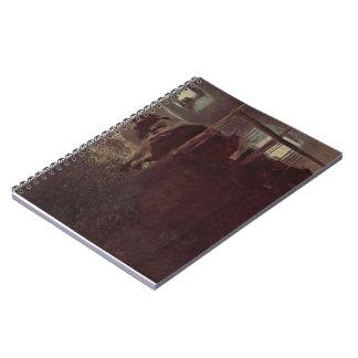Vacas de Gustavo Klimt- en el granero Cuadernos