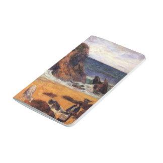 Vacas de Paul Gauguin- en la costa Cuaderno