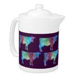 Vacas del arco iris en ciruelo