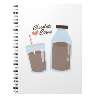 Vacas del chocolate libro de apuntes