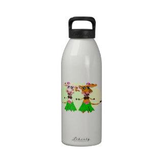 Vacas del MOO de Hula-Hula Botellas De Agua Reutilizables