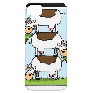 Vacas del o de la pila iPhone 5 Case-Mate carcasa