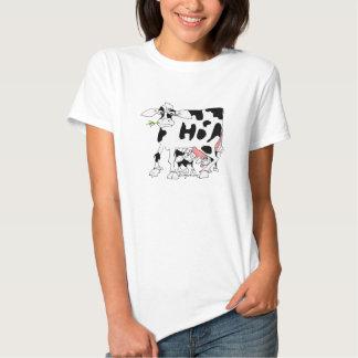 Vacas deliciosas de Udderly Camisas