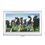 Vacas en el campo, ciudad de Betsukai, Hokkaido Caja De Tarjetas De Presentación