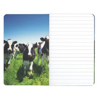 Vacas en el campo, ciudad de Betsukai, Hokkaido Cuadernos