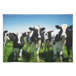 Vacas en el campo, ciudad de Betsukai, Hokkaido Manteles Individuales