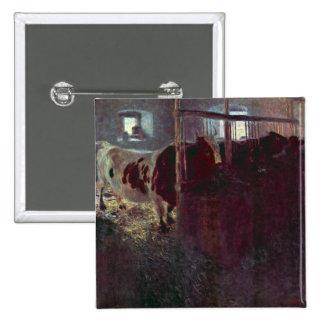 Vacas en parada de Gustavo Klimt Pin
