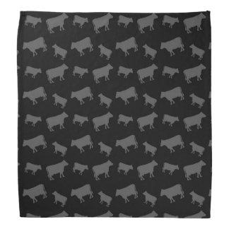 Vacas negras bandanas