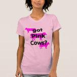 Vacas rosadas conseguidas camiseta