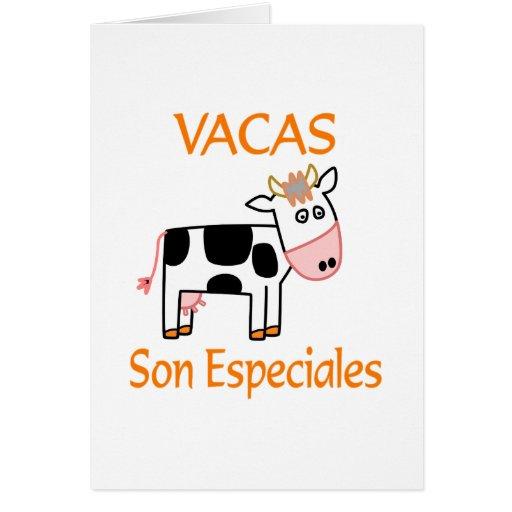 Vacas Son Especiales Card