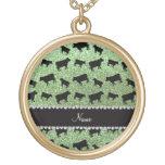 Vacas verdes claras conocidas personalizadas del b grimpola