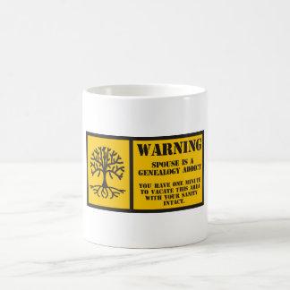 Vacate Area Classic White Coffee Mug