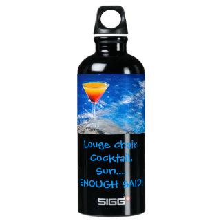 Vacation Aluminum Water Bottle