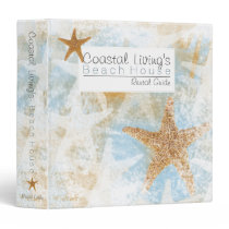 Vacation Beach House Guest Information Binder