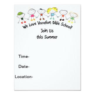 Vacation Bible School Announcements