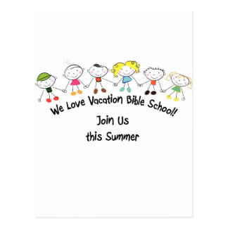 Vacation Bible School Postcard