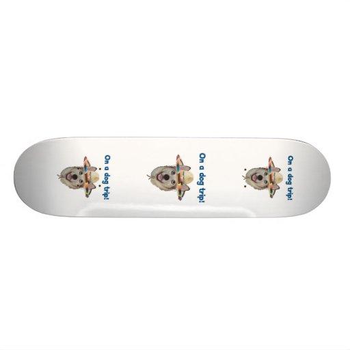 Vacation Dog Trip Skateboard Deck