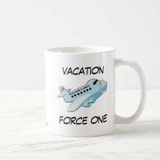 Vacation Force One Classic White Coffee Mug