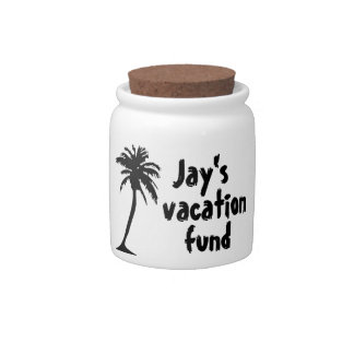 Vacation Fund Candy Jars