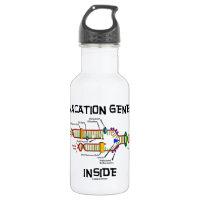 Vacation Genes Inside (DNA Replication) 18oz Water Bottle