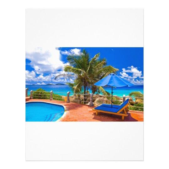 Vacation Getaway Letterhead