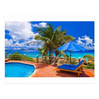 Vacation Getaway Postcard